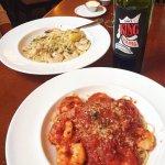 Scampi and Shrimp Diavolo!
