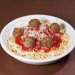 Organic Spaghetti and Meatballs