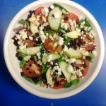 Our top summer salad--Pear and Goat Cheese