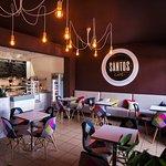 Santos Cafe Braniewo inside