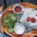 Lamb burrito