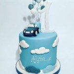Boys 1s Birthday Cake