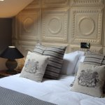 The Parisian bedroom at MAISON - our sister property.
