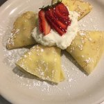 Strawberries and Cream Crepes!