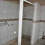 Huge enclosed shower