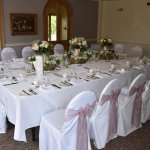 A Beautiful Wedding Breakfast table