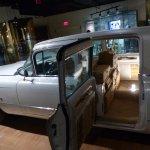 Elvis Presley's gold Cadillac.