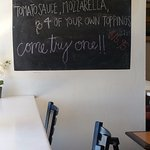 Check the chalk board for daily specials