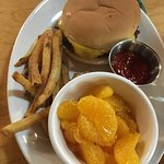 Kids meal-bacon cheese burger