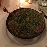 duck confit with sausage