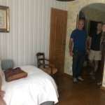 This room was perfect for us and our daughter- had a main room and a little room adjoining.