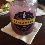 Huckleberry Lemonade..... YUM