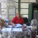 Say Hello to Sandy, A Volunteer who mention the History of the Sanctuary.