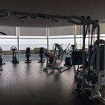 superbe salle de gym