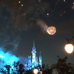 Happily Ever After Fireworks Foto