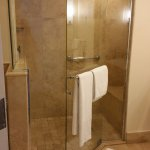 Loved the walk-in tiled shower Room 2062