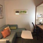 Sitting area/desk