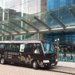 Complimentary Downtown Scheduled Bus to Wanchai and Hong Kong Station