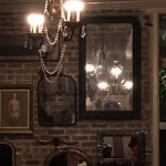 Muriel's decor fits the French quarter location
