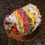 A special turkey cake for Thanksgiving!