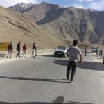 This point is situated between Kargil and Leh. It's difficult to prove magnetic effect.