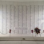Memorial on top of the sunken USS Arizona where thousands of lives perished