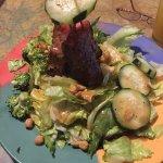Ahi Asian salad was selfish!
