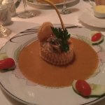 seafood pastry appetizer