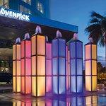 MAIN ENTRANCE & FOUNTAIN - MOVENPICK HOTEL AL KHOBAR