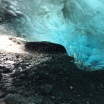 Ice Cave at the entrance