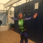 An amazing experience! Felt 100% safe thanks to Pete, even free falling at 15,000 feet. Just do
