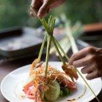 Lemongrass Shrimps & Salad