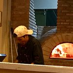 open fire pizza oven