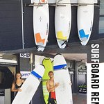 Awesome surboard and wetsuit rental, best price in town with the latest opening hours in summer
