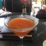 Fresh muddled fruit martini. Was amazing!