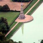 La pagode vue du ciel (ULM)