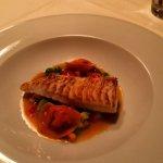 Fisch mit hausgemachten Teigwaren