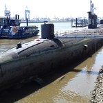 U-343 von hinten