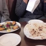 chicken wings and Mirza Ghasmi on the right