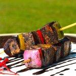 Paneer tikkas with madikeri flavours