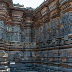 Outer walls of the sanctum