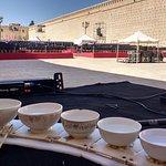 My instrument Jaltarang at Fes Festival morocco
