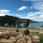 Views of Lake Tekapo are available for rooms at the front of the property