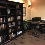 Lending library in the business center