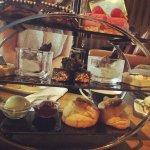 Afternoon tea, massive!