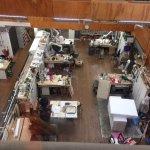 Studio where the props are made