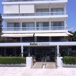 Main building of Nikolas Restaurant