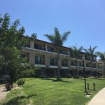 One of the buildings at the Sheraton Carlsbad Resort and Spa