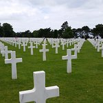 View of some of the grounds and the resting place of those that sacrificed
