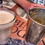 delicious milk shake